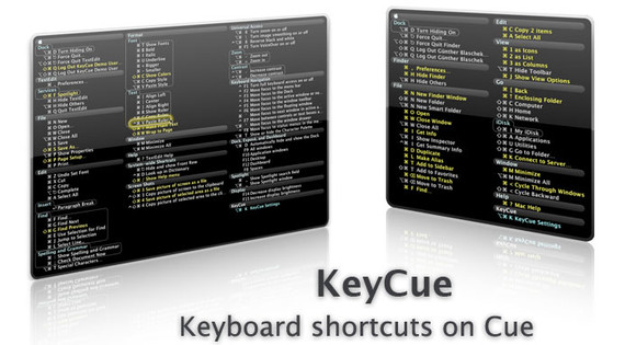KeyCue - find, remember, and learn menu shortcuts