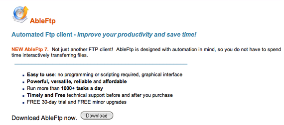 ftp client, free download, automate download and upload file, automation, scheduler
