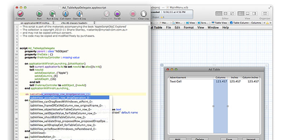 【Using AppleScript Objective-C】