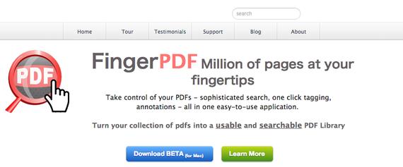 【FingerPDF app】