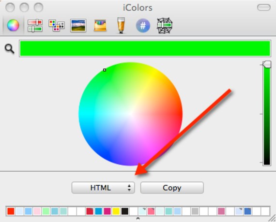iColors — The Designer's Color Selection Software for Mac OS X