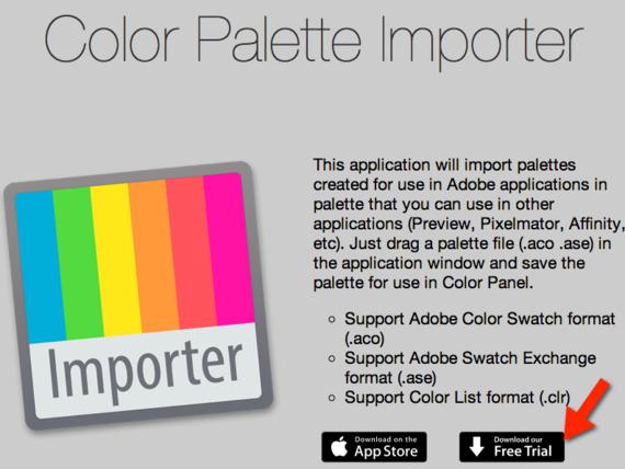 Color Palette Importer