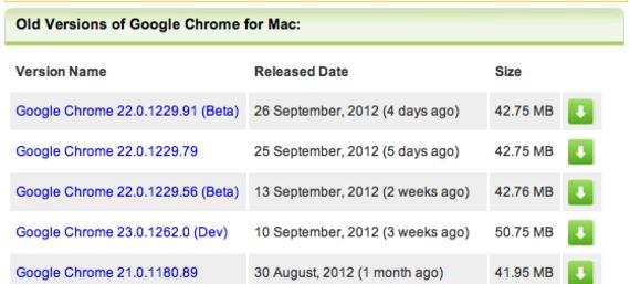 Old Version of Google Chrome for Mac Download - OldApps.com
