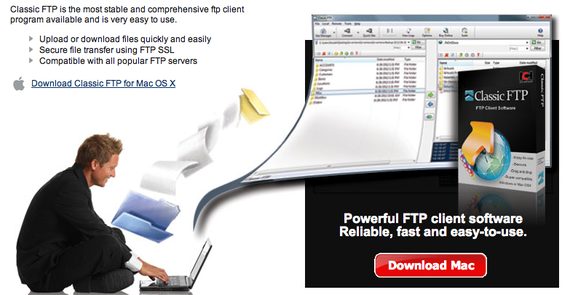 FTP Client Software - Free Download FTP Software for Mac or PC