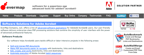 Software Solutions for Adobe® Acrobat®