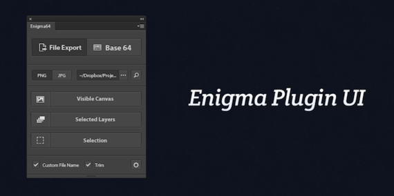 Enigma64 – the fastest way to get images from Photoshop