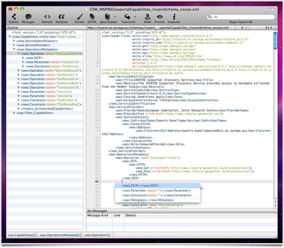 Xmplify XML Editor for Mac OS X