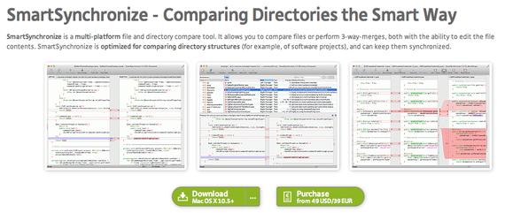 SmartSynchronize - File/Directory Compare