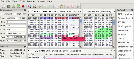 wxHexEditor - a Free Hex Editor / Disk Editor for Huge Files or Devices on Linux, Windows and MacOSX